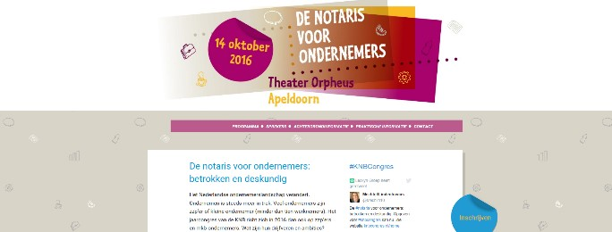 KNB Congres Website
